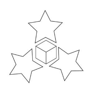 star and cube