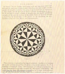 H.S.M Coxeter's publication of hyperbolic geometry