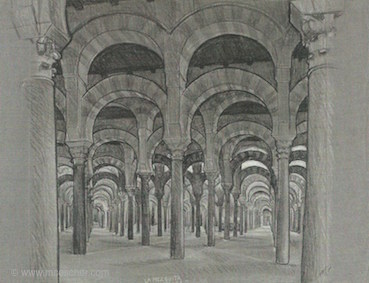 Study for La Mezquita, 1936