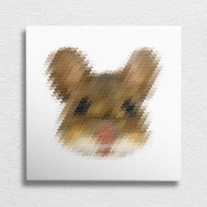 Mouse Head Canvas